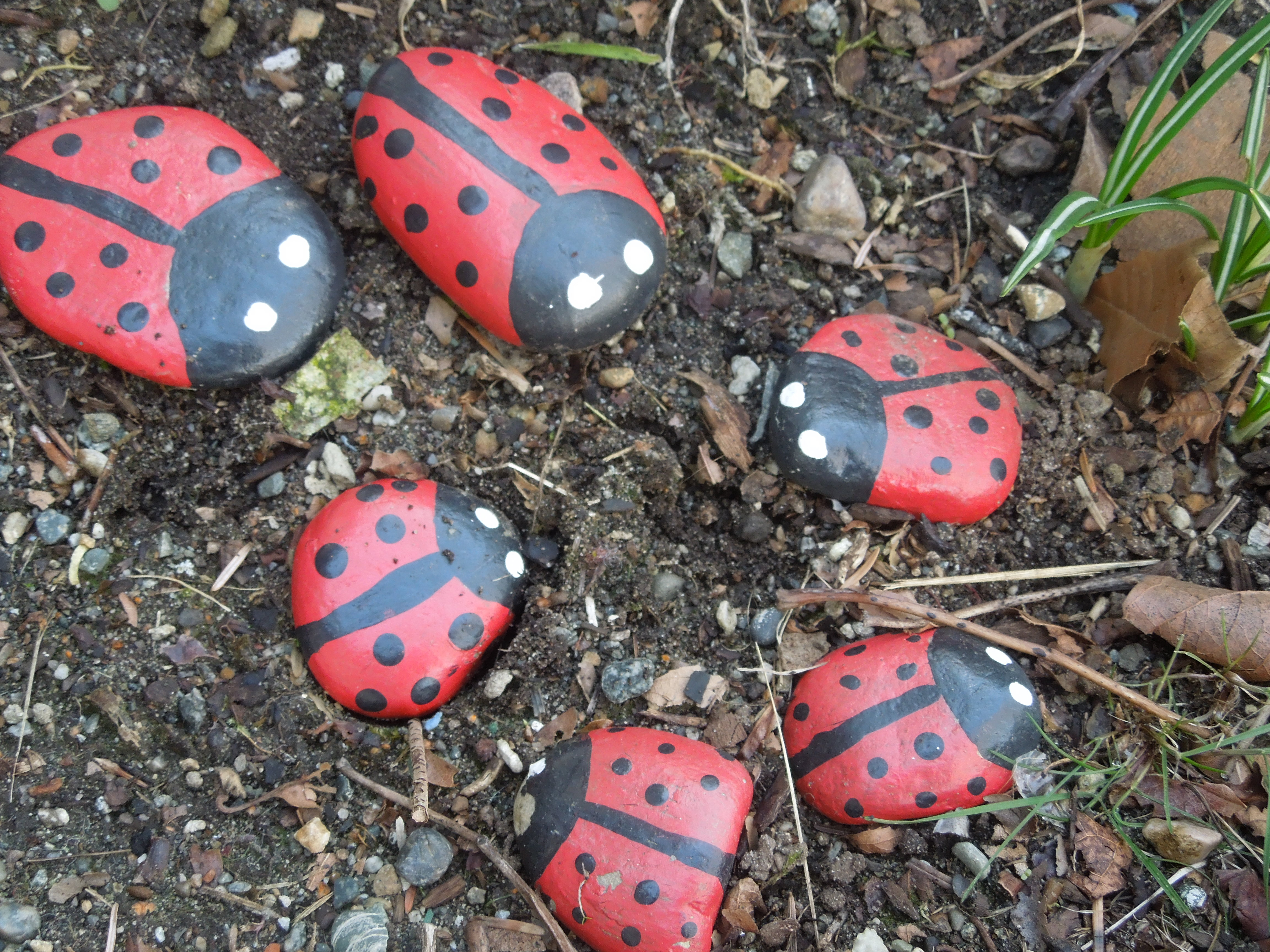 Painted Rocks As An Easy Garden Decoration Lifemadehappy